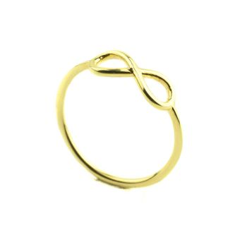 Kurshuni Ring Infinity Gold