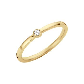 MelanO Friends Ring Mini Zirkonia Gold