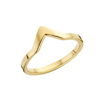 MelanO Friends Ring Pointed Gold