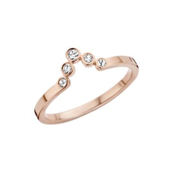 MelanO Friends Ring Pointed Zirkonia Roségold