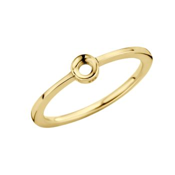 MelanO Twisted Ring Petite Gold
