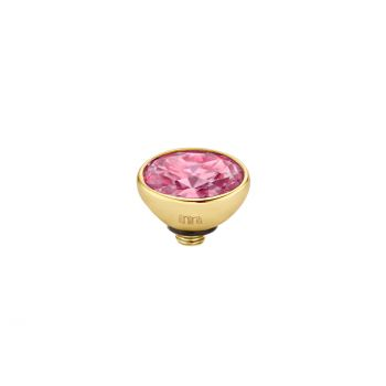 MelanO Twisted Ringaufsatz Mini Oval Gold Rose