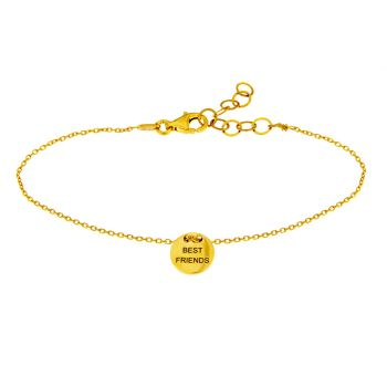 alisia Armband Best Friends Gold