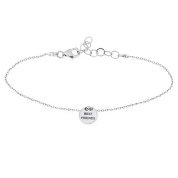 alisia Armband Best Friends Silber