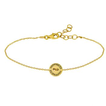 alisia Armband Happiness Gold