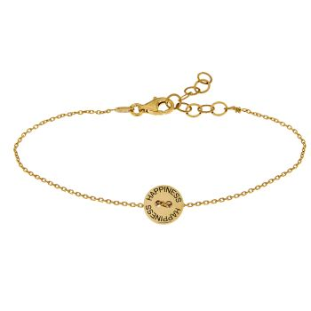 alisia Armband Happiness Roségold