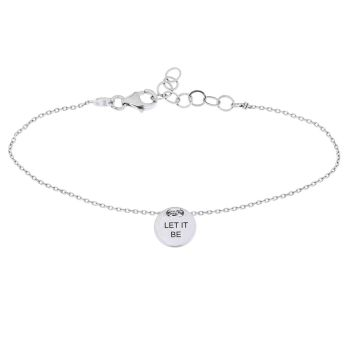 alisia Armband Let It Be Silber