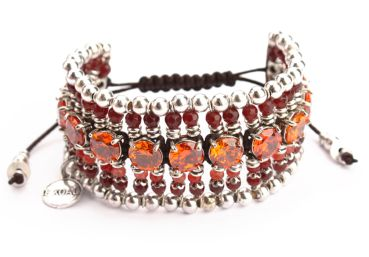 Exoal Armband High Society Rot/Orange