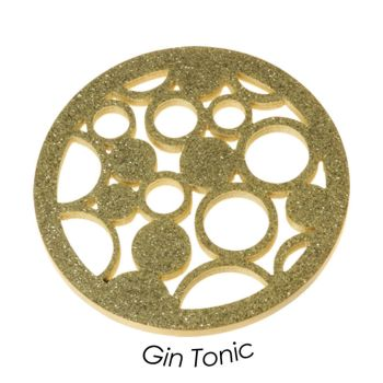 Quoins Münze Gin Tonic Gold L