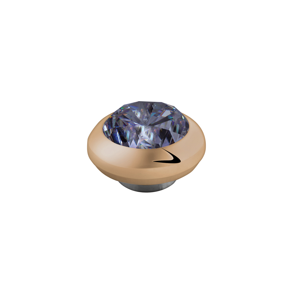 perlenmarkt onlineshop melano magnetic ringaufsatz ros gold lavender klein. Black Bedroom Furniture Sets. Home Design Ideas